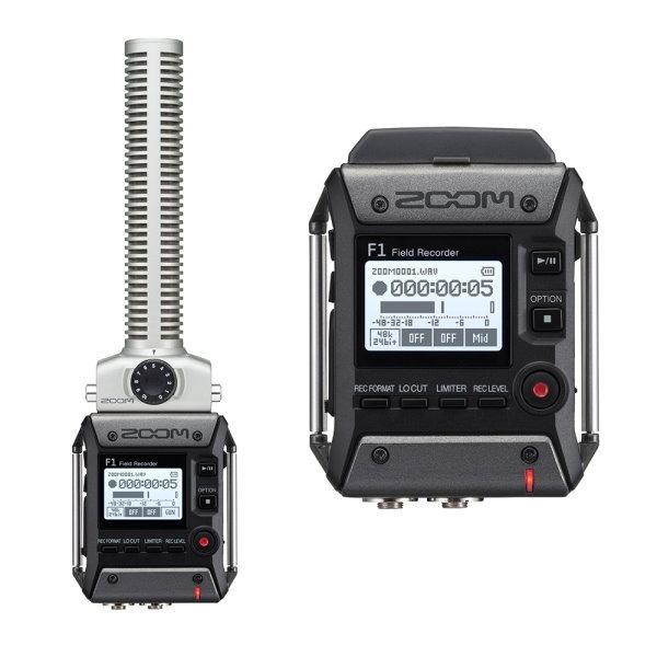 Zoom F1 台灣公司貨 / Zoom F1-SP 槍型 指向性麥克風 + 現場錄音座 / 口袋型隨身錄音機 F1SP 公司貨 ZOOM F1,zoom f1,zoom f1sp,zoom f1-sp