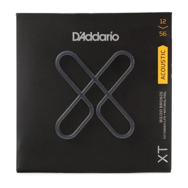 美國 D'Addario XTABR1256 (12-56) 民謠吉他弦 【XTABR-1256/木吉他弦專賣店/DAddario】