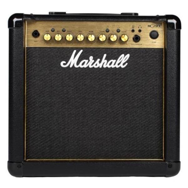 Marshall Mg15fx Gold 電吉他音箱 內建效果器 經典金色面板(15瓦/15w)【Mg15gfx/Mg-15gfx/電吉他音箱專賣店】 Marshall MG15FX Gold 電吉他音箱 內建效果器 經典金色面板(15瓦/15w)【MG15GFX/MG-15GFX/電吉他音箱專賣店】