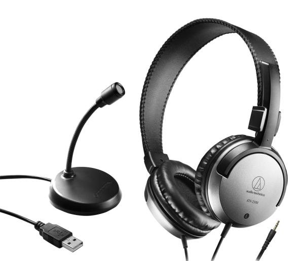鐵三角 AT9933USB PACK 遠端工作USB麥克風耳機組 Audio-Technica 台灣公司貨【輕鬆將在家工作環境整合的 耳機+USB麥克風入門組合】 【輕鬆將在家工作環境整合的 耳機+USB麥克風入門組合】