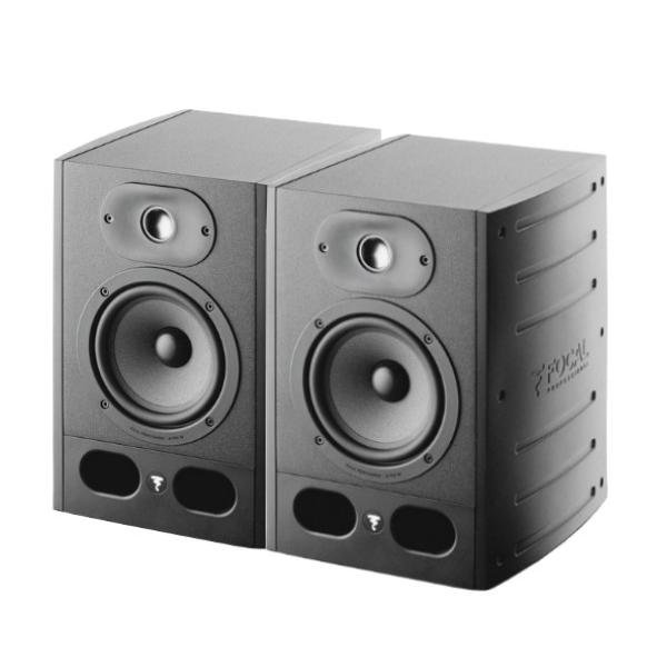 Focal Alpha65 主動式監聽喇叭/6.5吋錄音室專用【黑色/一對兩顆/台灣公司貨保固/Alpha-65】