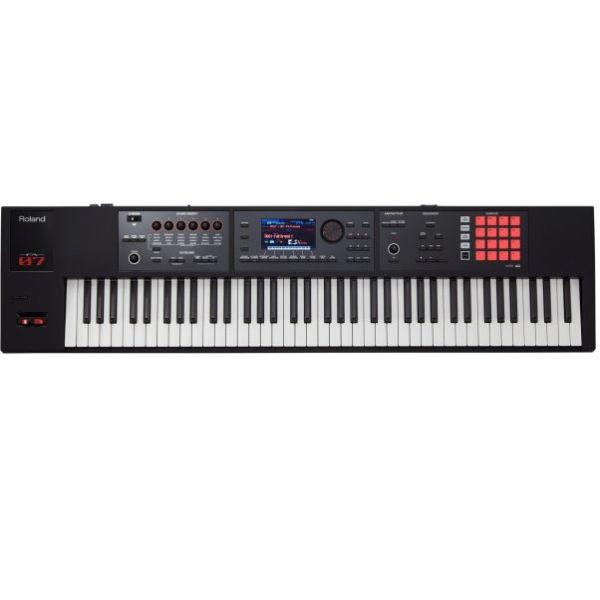Roland FA-07 76鍵數位合成器/編曲工作站 鋼琴半配重鍵盤【原廠公司貨一年保固/Music Workstation/FA07】