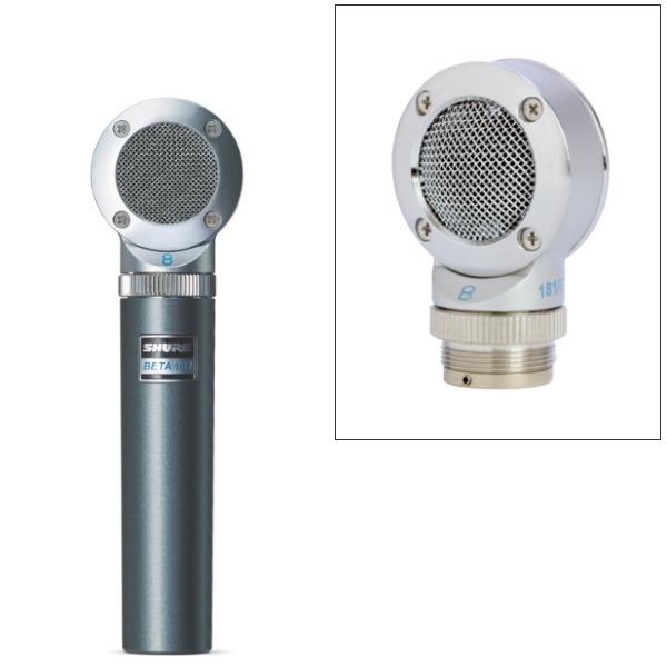 Shure Beta 181/bi 電容式 8字形(雙向) 側向拾音麥克風 可更換拾音頭 原廠公司貨 一年保固 【適合單聲道上方拾音話筒、雙樂器聲源應用、Blumlein立體聲技術/Beta181】 Shure Beta 181/bi 電容式 8字形(雙向) 側向拾音麥克風 可更換拾音頭 原廠公司貨 一年保固 【適合單聲道上方拾音話筒、雙樂器聲源應用、Blumlein立體聲技術/Beta181】