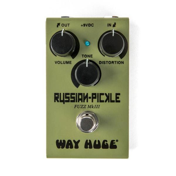 Dunlop WM42 迷你法茲破音效果器【Russian Pickle/Mini Fuzz MKIII/Way Huge】
