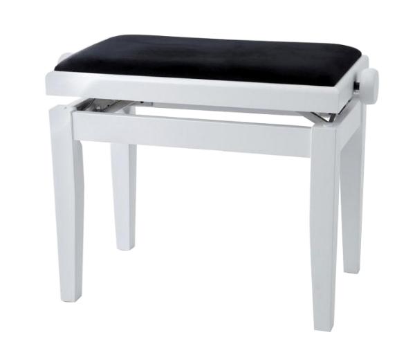 PIANO BENCH 白色鋼琴椅 PJ023 可調整高度鋼琴椅/電鋼琴椅/電子琴椅/piano琴椅/Keyboard椅 GEWA同款 鋼琴椅