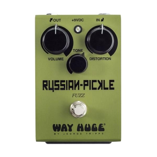 Dunlop WHE408 破音效果器【Russian Pickle/Fuzz/Way Huge/WHE-408】
