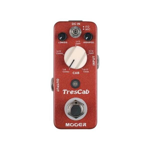 Mooer TC 喇叭箱體模擬效果器【TresCab】【原廠公司貨/一年保固】