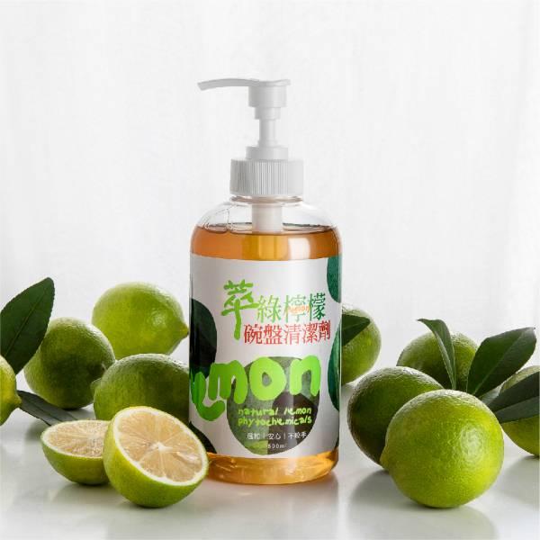 萃綠檸檬碗盤清潔劑500ml 達觀國際,萃綠檸檬,檸檬清潔
