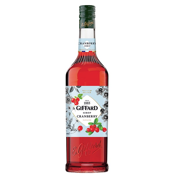 【Giffard】蔓越莓糖漿 GIFFARD,糖漿,咖啡,烘焙,老爸咖啡,咖啡機