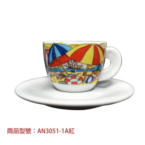 假期濃縮杯組(2杯2盤) 老爸咖啡,杯子,瓷,咖啡,精品,濃縮,義大利,義式,咖啡豆,老爸咖啡 商城