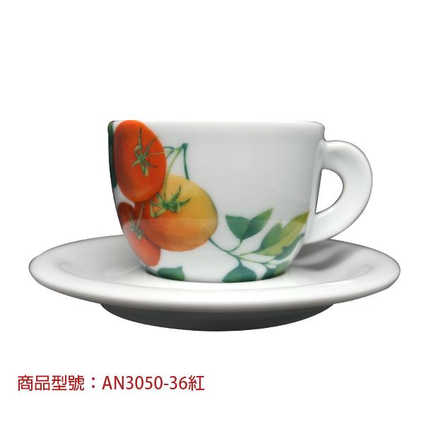 義大利蔬菜卡布杯組(2杯2盤) 老爸咖啡,杯子,瓷,咖啡,精品,濃縮,義大利,義式,咖啡豆,老爸咖啡 商城