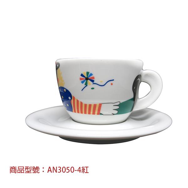 馬戲卡布杯組(2杯2盤) 老爸咖啡,杯子,瓷,咖啡,精品,濃縮,義大利,義式,咖啡豆,老爸咖啡 商城