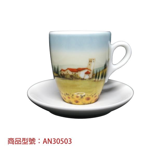 義大利鄉村雙份濃縮杯組(2杯2盤) 老爸咖啡,杯子,瓷,咖啡,精品,濃縮,義大利,義式,咖啡豆,老爸咖啡 商城