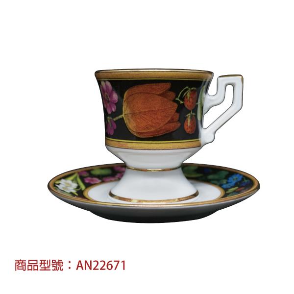 Notte Venezia濃縮杯組(1杯1盤) 老爸咖啡,杯子,瓷,咖啡,精品,濃縮,義大利,義式,咖啡豆,老爸咖啡 商城