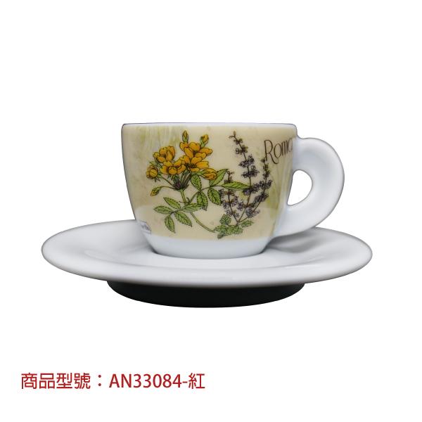 義大利之花濃縮杯組(2杯2盤) 老爸咖啡,杯子,瓷,咖啡,精品,濃縮,義大利,義式,咖啡豆,老爸咖啡 商城