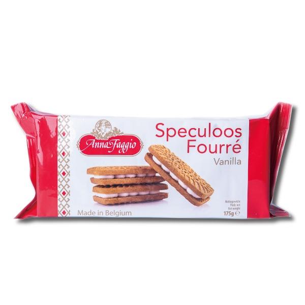 安娜香草風味夾心餅 老爸咖啡,Anna Faggio,咖啡餅乾,焦糖餅,咖啡,比利時焦糖脆餅,蓮花脆餅