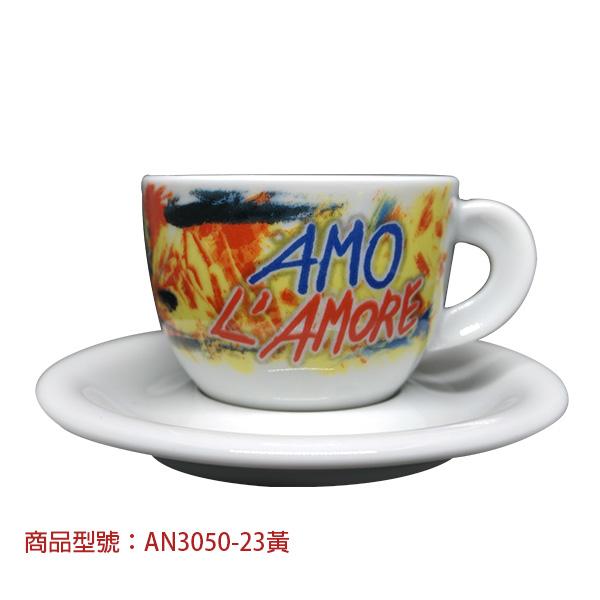 訊息卡布杯組(2杯2盤) 老爸咖啡,杯子,瓷,咖啡,精品,濃縮,義大利,義式,咖啡豆,老爸咖啡 商城