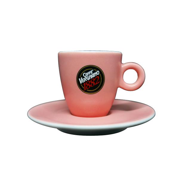 【6月限定價】Vergnano 濃縮杯組(1杯1盤) Vergnano,雀巢,咖啡壺,咖啡,烘焙,老爸咖啡,咖啡機,咖啡豆