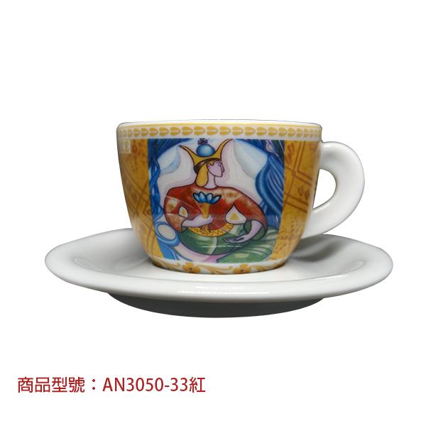 塔羅牌卡布杯組(2杯2盤) 老爸咖啡,杯子,瓷,咖啡,精品,濃縮,義大利,義式,咖啡豆,老爸咖啡 商城