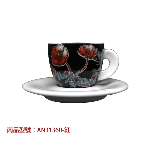 祕密花園濃縮杯組(2杯2盤) 老爸咖啡,杯子,瓷,咖啡,精品,濃縮,義大利,義式,咖啡豆,老爸咖啡 商城