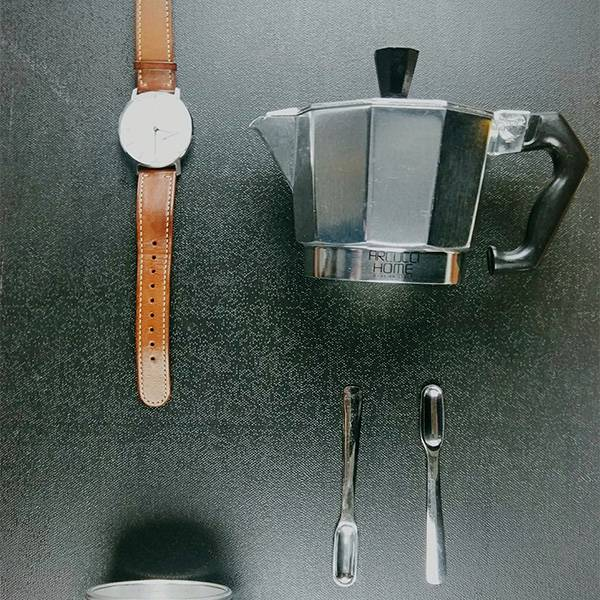 Arcucci Alice 鋁製咖啡壺 3人份 Arcucci,咖啡壺,咖啡,烘焙,老爸咖啡,咖啡機