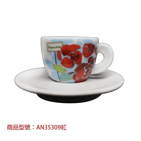 花漾濃縮杯組(2杯2盤) 老爸咖啡,杯子,瓷,咖啡,精品,濃縮,義大利,義式,咖啡豆,老爸咖啡 商城