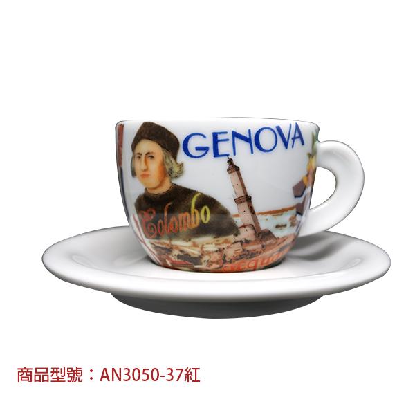 美麗的義大利卡布杯組(2杯2盤) 老爸咖啡,杯子,瓷,咖啡,精品,濃縮,義大利,義式,咖啡豆,老爸咖啡 商城