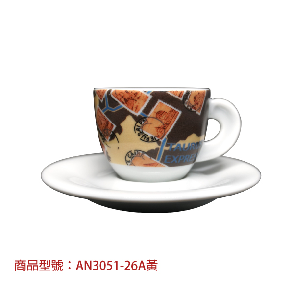 東方快車濃縮杯組(2杯2盤) 老爸咖啡,杯子,瓷,咖啡,精品,濃縮,義大利,義式,咖啡豆,老爸咖啡 商城