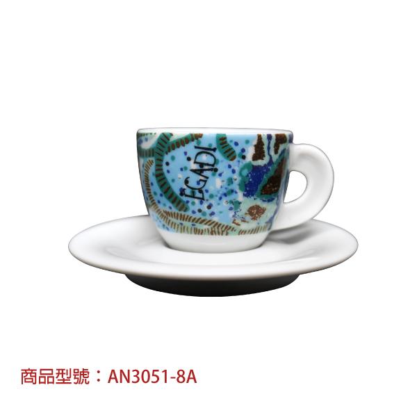 夢幻濃縮杯組(2杯2盤) 老爸咖啡,杯子,瓷,咖啡,精品,濃縮,義大利,義式,咖啡豆,老爸咖啡 商城