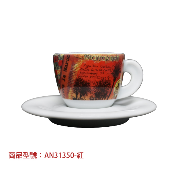 旅遊手記濃縮杯組(2杯2盤) 老爸咖啡,杯子,瓷,咖啡,精品,濃縮,義大利,義式,咖啡豆,老爸咖啡 商城