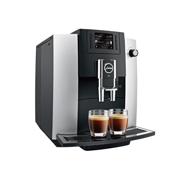 E6  全彩中文脈衝萃取式咖啡機 咖啡機,JURA,咖啡,家用
