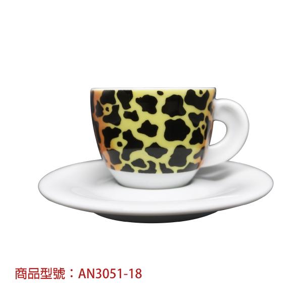野性非洲濃縮杯組(6杯6盤) 老爸咖啡,杯子,瓷,咖啡,精品,濃縮,義大利,義式,咖啡豆,老爸咖啡 商城