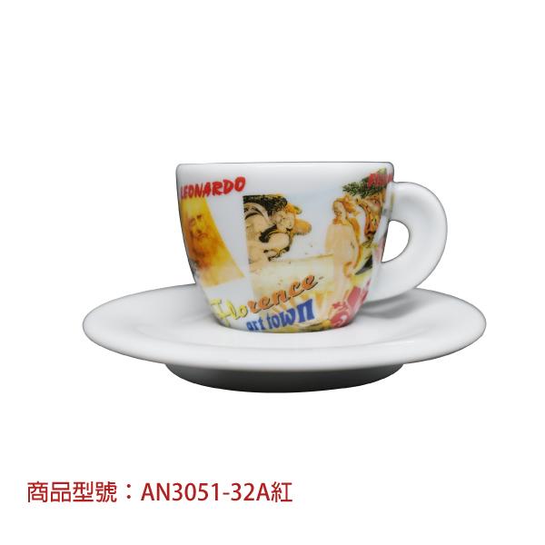 美麗的義大利濃縮杯組(2杯2盤) 老爸咖啡,杯子,瓷,咖啡,精品,濃縮,義大利,義式,咖啡豆,老爸咖啡 商城