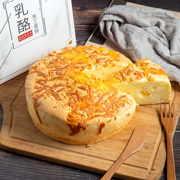乳酪布丁蛋糕8吋 鈔票;糖霜;蛋糕;送禮;創意