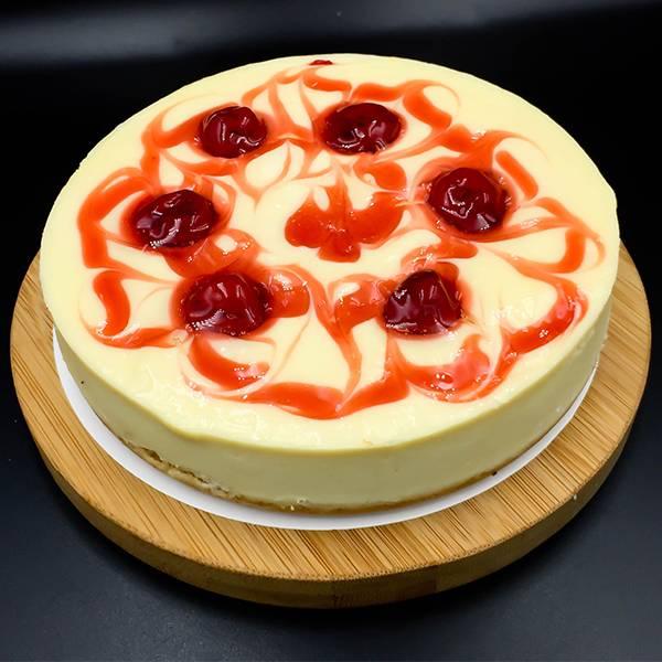 幸福櫻桃重乳酪6吋 櫻桃重乳酪,乳酪,水果,重乳酪