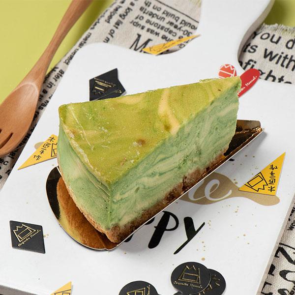 抹茶大理石重乳酪