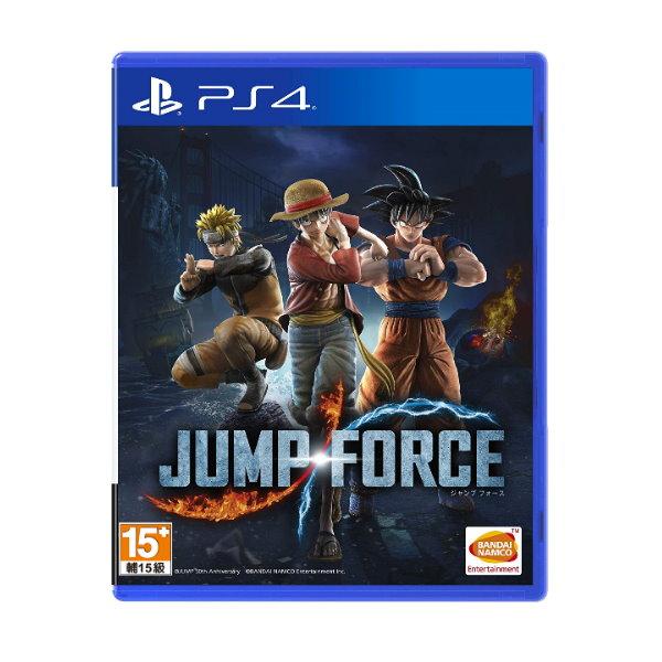 新品現貨 PS4 《JUMP FORCE》中文一般版(附贈預購特典)