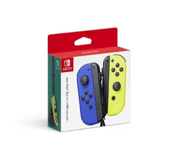新品現貨 Nintendo Switch Joy-Con 控制器組(藍 / 電光黃)