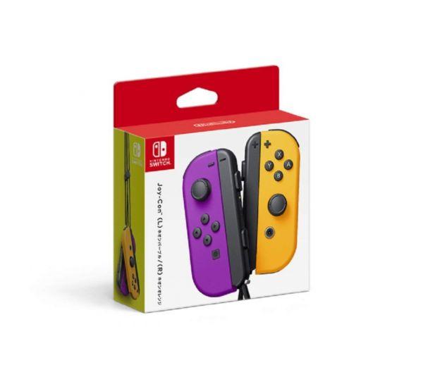 新品現貨 Nintendo Switch Joy-Con 控制器組(電光紫 / 電光橙)
