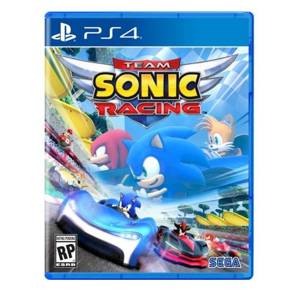 新品現貨 PS4 《音速小子 搭檔組隊大賽車》中文版