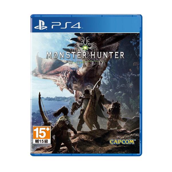新品現貨PS4《魔物獵人 世界》中文一般版