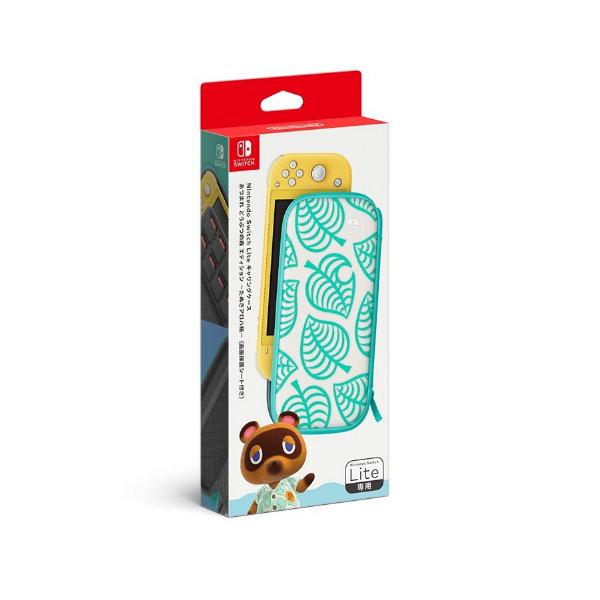 新品現貨 NS Lite《集合啦!動物森友會》特仕 Nintendo Switch 便攜包(Nook 夏威夷花紋款)