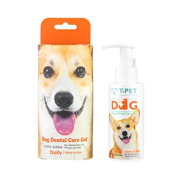 【T-PET】狗狗潔牙凝膠 120mL 狗狗口臭,牙結石,刷牙,狗狗牙刷,潔牙骨,老狗洗牙,麻醉洗牙,潔牙液
