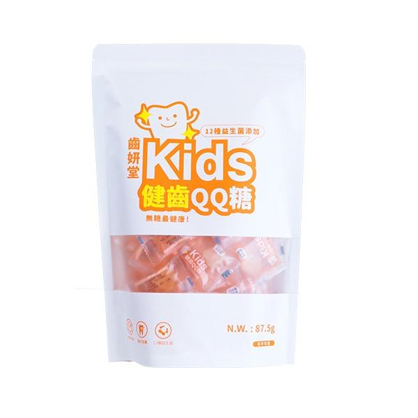 Toothfilm Kids Sugar-free Gummy ( Fermented milk flavor) 專為兒童設計的健齒軟糖,乳酸多多口味,無糖、無色素、零脂肪! ✔︎添加木糖醇,維護口腔健康✔︎富含12種250萬株專利益生菌,幫助消化✔︎不含六大過敏原✔︎美國紐約大學牙醫博士推薦