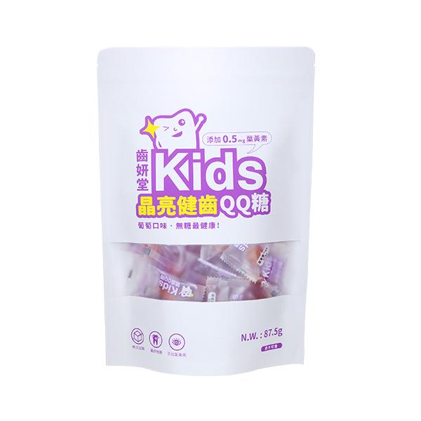 Toothfilm Kids Sugar-free Gummy (Grape flavor) 專為兒童設計的健齒軟糖,乳酸多多口味,無糖、無色素、零脂肪! ✔︎添加木糖醇,維護口腔健康✔︎富含12種250萬株專利益生菌,幫助消化✔︎不含六大過敏原✔︎美國紐約大學牙醫博士推薦
