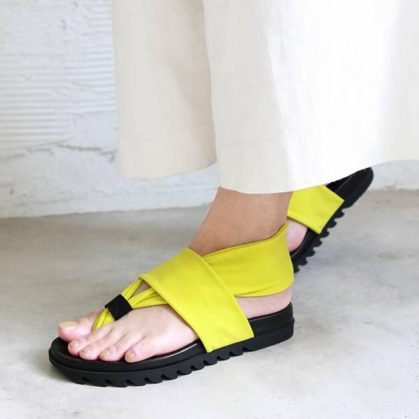 預購【日本製】lagomma減壓夾腳涼鞋-螢光綠