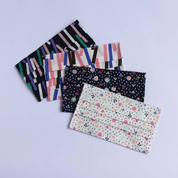 【現貨】純棉印花透氣口罩套成人版 台灣製造 可放入醫療口罩