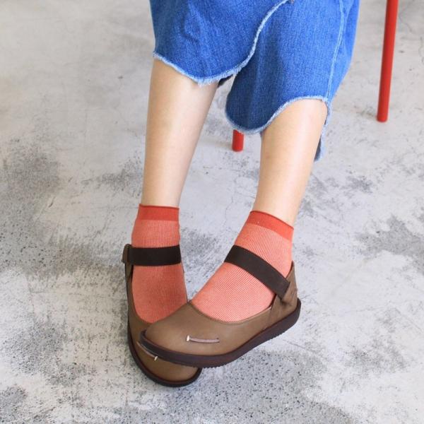 預購【日本製】D'knot柔軟真皮輕量鬆緊帶便鞋-深棕