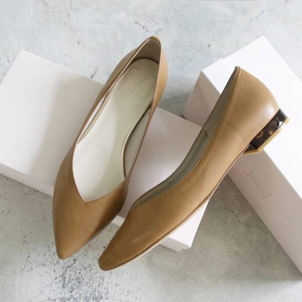 【手工訂製】【人氣款】ETOILE 日本製尖頭低跟鞋
