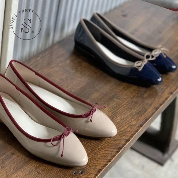 【手工訂製】【西喜聯名】_TIAM日本製晴雨兩穿微尖頭芭蕾舞鞋